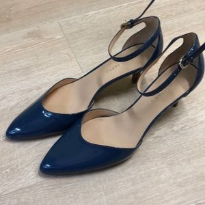 Franco Sarto periwinkle blue shoes
